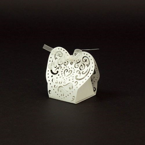 Heart Pattern Favor Box