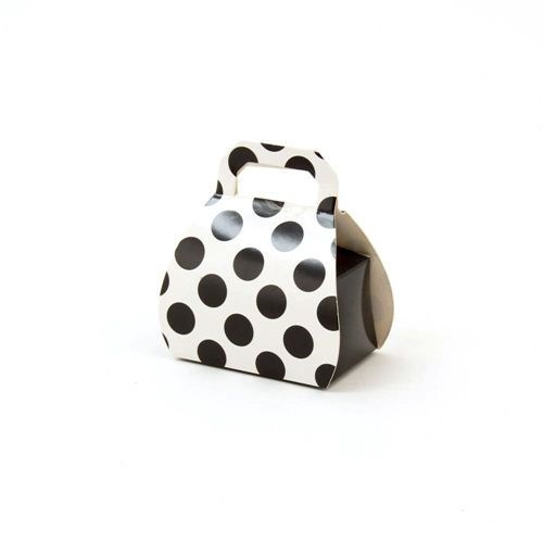 Polka Dot Bag Favor Box