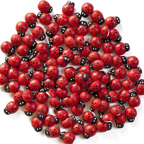 Stick On Ladybird (100 pk)