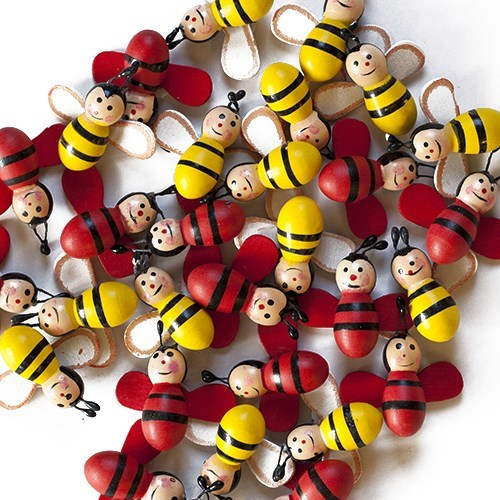 Stick On Bumble Bee (30 pk)