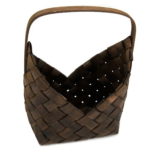 Wooden Weaved Basket