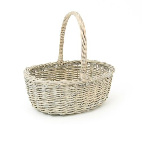 Grey Willow Basket