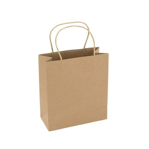 Kraft Carry Bags small (10pk)