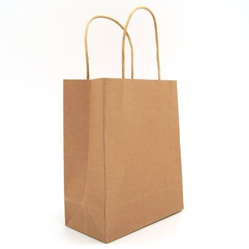 Kraft Carry Bags Medium (10pk)