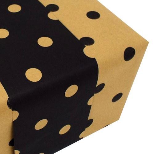 Reversible Dot - Black/Kraft