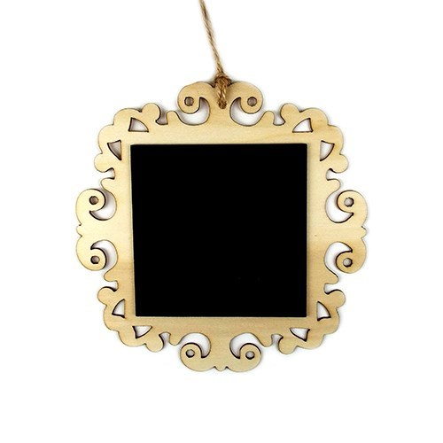 Square Vintage Blackboard