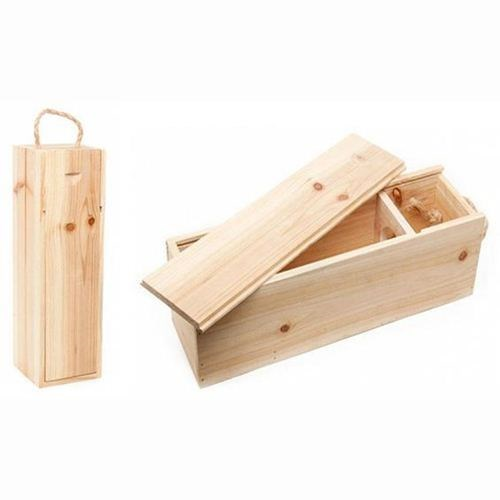 Wooden Wine box - 1 bottle
