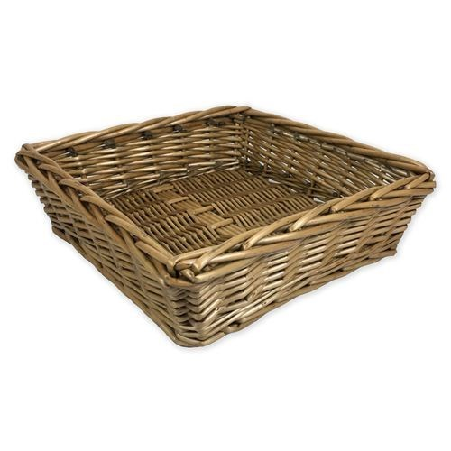 Square Basket Tray 30 X 30 X 9cmH