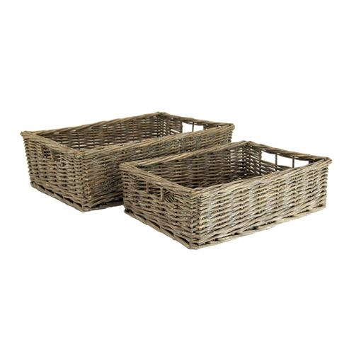 Rectangle Willow Basket