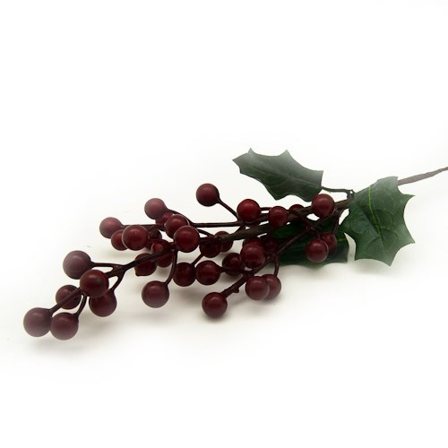 Single Stem Berries 43cm