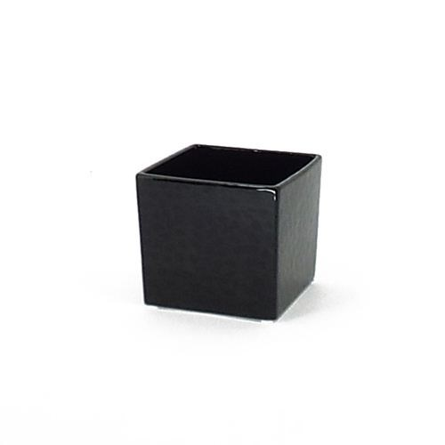 Ceramic Cube Small Black
