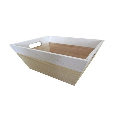 Tapered Wooden Tray