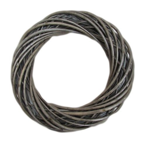 Willow Wreath Dark Grey - 40cmD