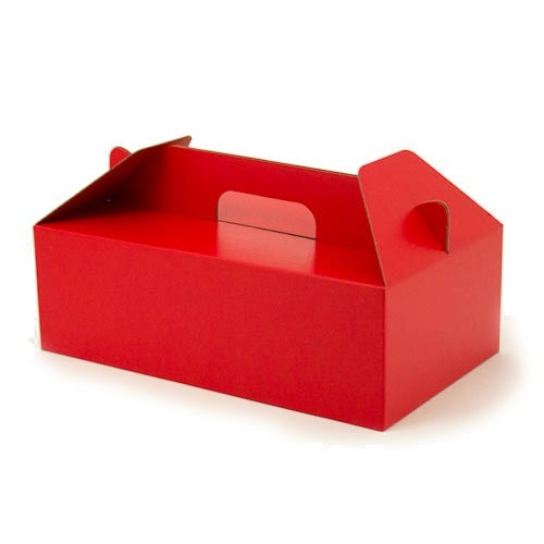 Carry Hamper Box - Red