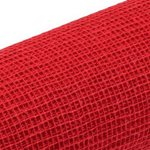Jute Natural Mesh - Red - Red