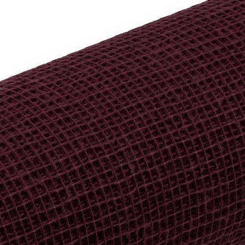 Jute Natural Mesh - Bordeaux