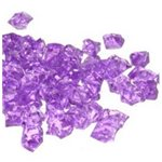 Acrylic Ice Chips - Lavender 400gms