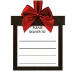 Delivery Label Stickers - 20PK - Each sticker is 16cm x 21cmH