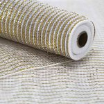 PP Mesh 2Tone 54cm x 10yds - Gold/Silver