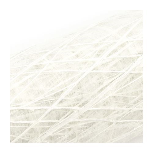 Metallic Linen Wrap (White)