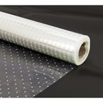 Cellophane Roll White Dot - 500mmx50m