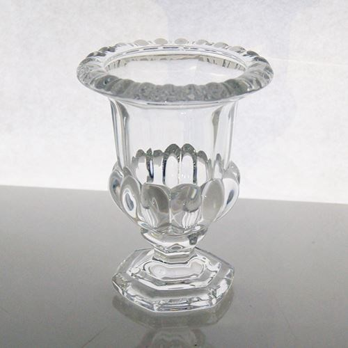 Small Glass Urn  - 11cmdiax13.5cmH