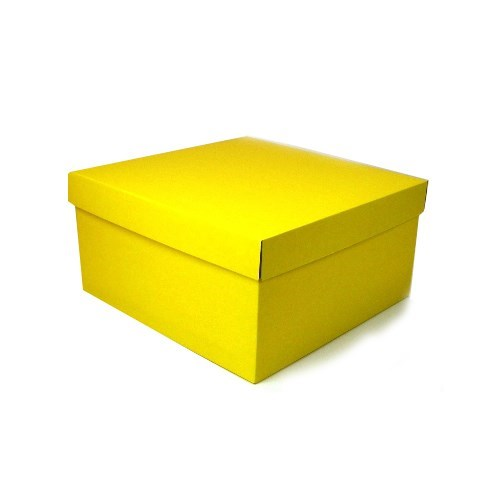 Large Gift Box - Yellow