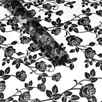 Cellophane Sheets (50pk) 50x70cm - Black Rose
