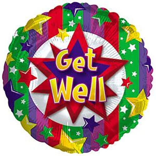 Get Well Colourful Burst