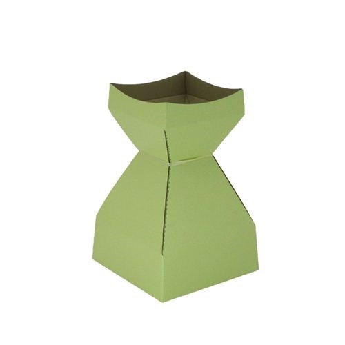 Tapered Water Vase Soft Lime -210mmH