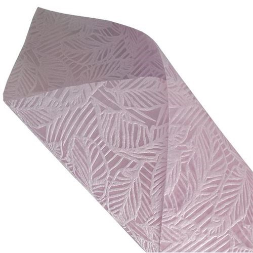 Leaf Non-Woven Roll - Light Pink - 50cmx10m