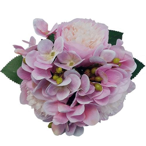 Mixed Posy - Light Pink 26cm