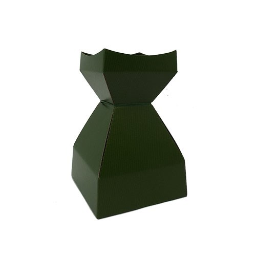 Tapered Water Vase Dark Olive-210mmH