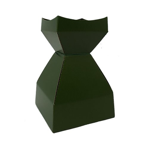 Tapered Water Vase Dark Olive-260mmH