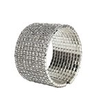 Diamante Cuff Bracelet -10 row