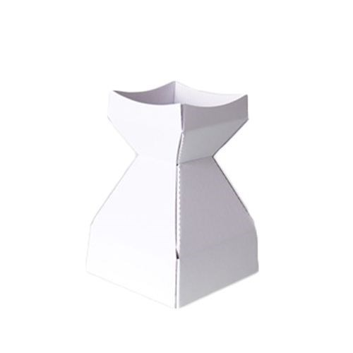 Tapered Water Vase White-210mmH