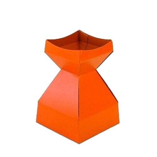 Tapered Water Vase Orange-210mmH