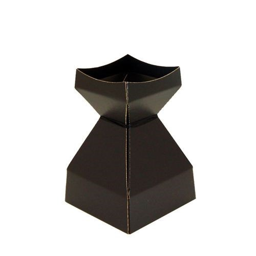 Tapered Water Vase Black-210mmH