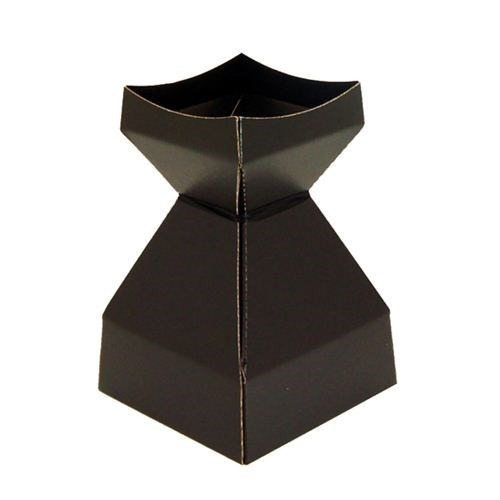 Tapered Water Vase Black-260mmH