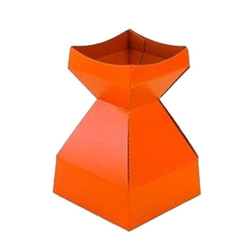 Tapered Water Vase Orange-260mmH