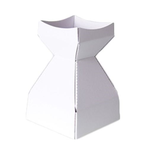 Tapered Water Vase White-260mmH